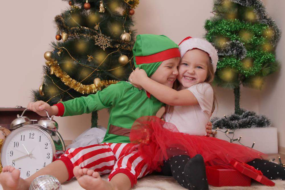 Disfrazarse en Navidad