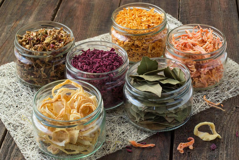 Verduritas deshidratadas, el snack más chic y más saludable