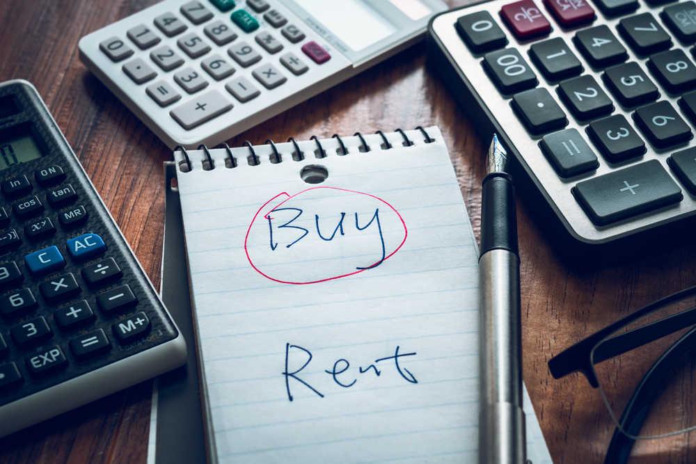 ¿Sale mejor alquilar que comprar?